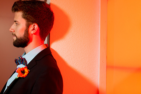 hot light groom